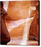 Natural Beauty At Its Finest - Antelope Canyon Arizona Canvas Print by Christine Till