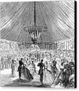 Naval Festival, 1865 Canvas Print
