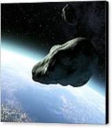 Near-earth Objects, Artwork Canvas Print by Take 27 Ltd