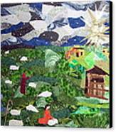 'neath The Brightest Star Canvas Print