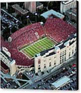 Nebraska Aerial View Of Memorial Stadium  Canvas Print
