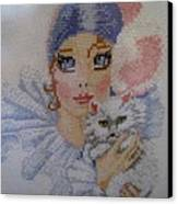 Needle Craft Canvas Print by Joyce Woodhouse