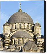 New Mosque In Istanbul Canvas Print