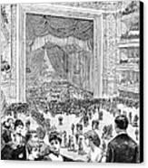 New York Charity Ball, 1884 Canvas Print
