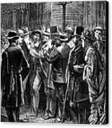 New York: Election, 1876 Canvas Print