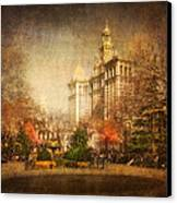 New York In April Canvas Print by Svetlana Sewell