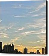 New York Sunset 2 Canvas Print