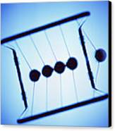 Newton's Cradle Canvas Print by Kevin Curtis