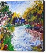 Nh Landscape Canvas Print by Michel Croteau