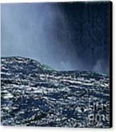 Niagara Canvas Print by Barry Shaffer