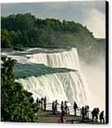 Niagara Falls State Park Canvas Print by Mark J Seefeldt
