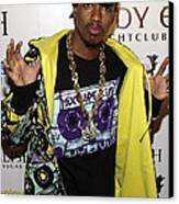 Nick Cannon At Arrivals For Nick Cannon Canvas Print