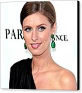 Nicky Hilton At Arrivals For Paris, Not Canvas Print by Everett