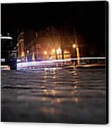 Night Cops Canvas Print by Kevin Flynn
