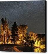 Night Sky, Australia Canvas Print by Alex Cherney, Terrastro.com