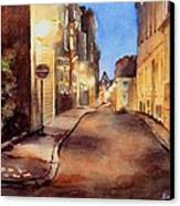 Nightlights Canvas Print by Bobbi Price