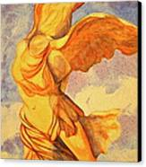 Nike Goddess Of Victory Canvas Print