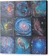Nine Nebulae Canvas Print
