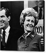Nixon Presidency. Us President-elect Canvas Print by Everett