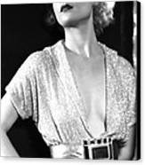 No Man Of Her Own, Carole Lombard, 1932 Canvas Print by Everett