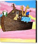 Noah's Ark Canvas Print by Christie Minalga