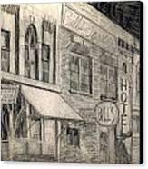 Noir Street Canvas Print