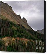 Nokhu Crags Colorado Canvas Print by Michael Kirsh