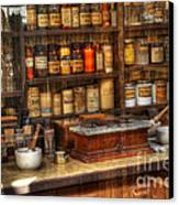 Nostalgia Pharmacy 2 Canvas Print by Bob Christopher