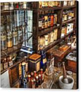 Nostalgia  Pharmacy Canvas Print by Bob Christopher