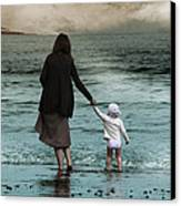 Nothing Is Too Big With A Hand To Hold Canvas Print