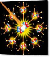 Nuclear Fission Canvas Print by David Nicholls
