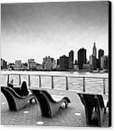 Nyc Relax Canvas Print