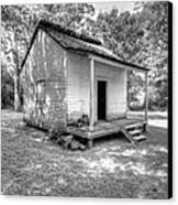 Oakley Plantation Slaves Quarters Canvas Print