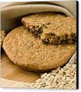 Oatmeal Raisin Cookie Canvas Print by Rob Outwater