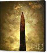 Obelisk. Illustration Canvas Print by Bernard Jaubert