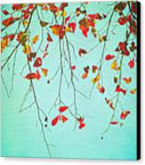 October Greetings Canvas Print by Sharon Coty