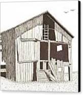Ohio Barn Canvas Print by Pat Price