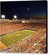 Oklahoma State Boone Pickens Stadium Under The Lights Canvas Print by Oklahoma State University