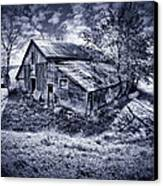 Old Barn Canvas Print by Donald Schwartz