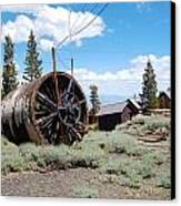 Old Cabin Mine Canvas Print by Kirk Williams
