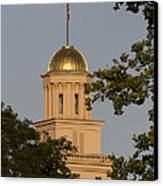 Old Capitol Canvas Print by Diane Zumbach