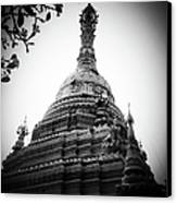Old Chedi, Chiang Mai Canvas Print by Robsteerphotopgraphy