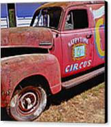Old Circus Truck Canvas Print by Garry Gay
