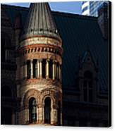 Old City Hall Turret Canvas Print