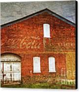 Old Coca Cola Building Canvas Print