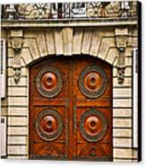 Old Doors Canvas Print