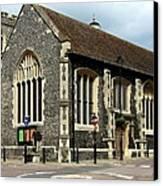 Old English Church Uxbridge Uk Canvas Print