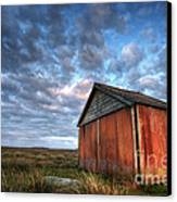 Old Hay Barn Canvas Print by Martin Williams