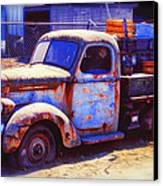 Old Junk Truck Canvas Print