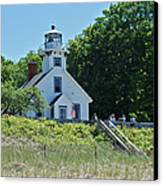 Old Mission Point Lighthouse 5306 Canvas Print by Michael Peychich